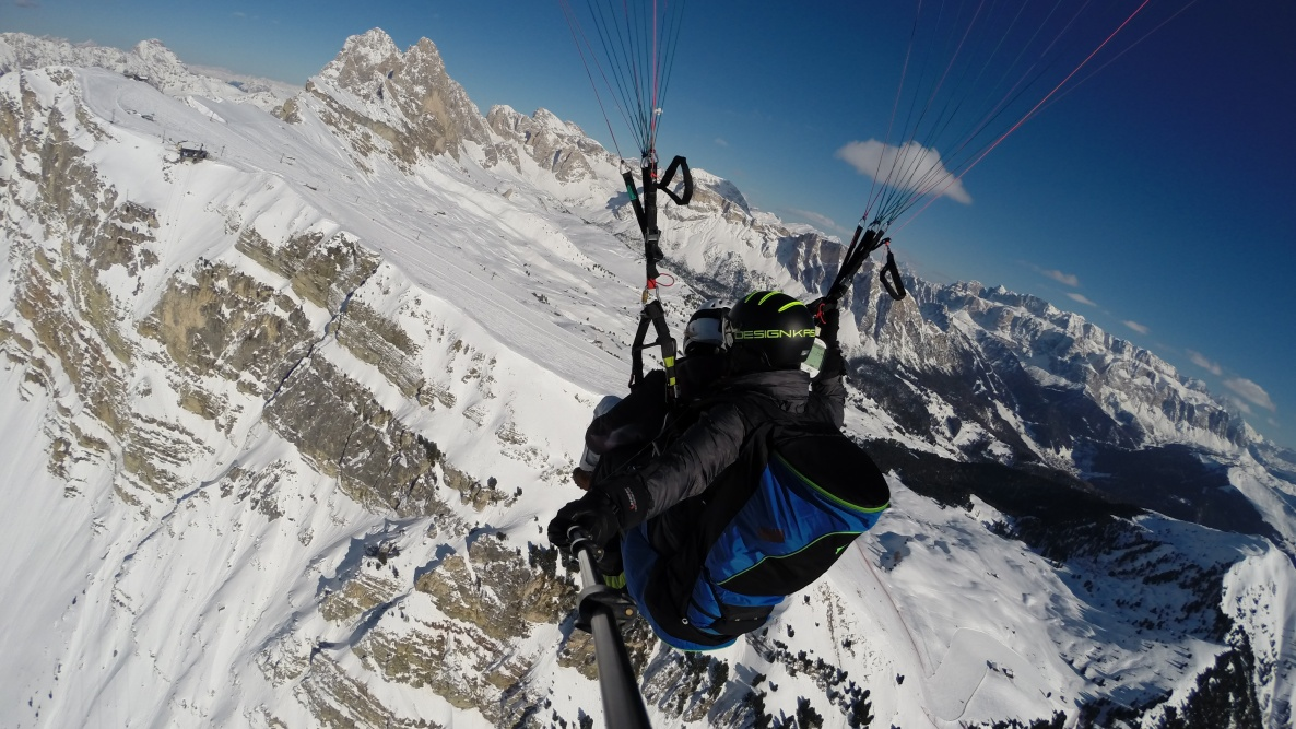 Gardenafly - Paragliding Tandem in the Dolomites