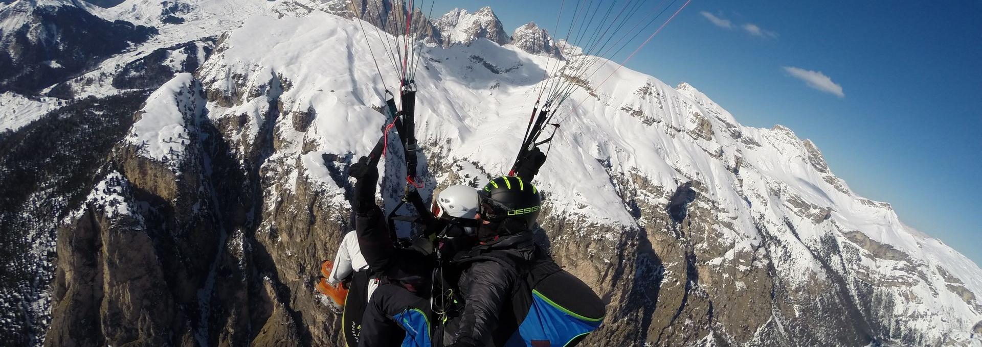 Dolomites Tandem flights Gardenafly