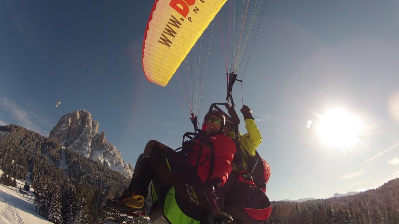 Volare in parapendio in Alto Adige