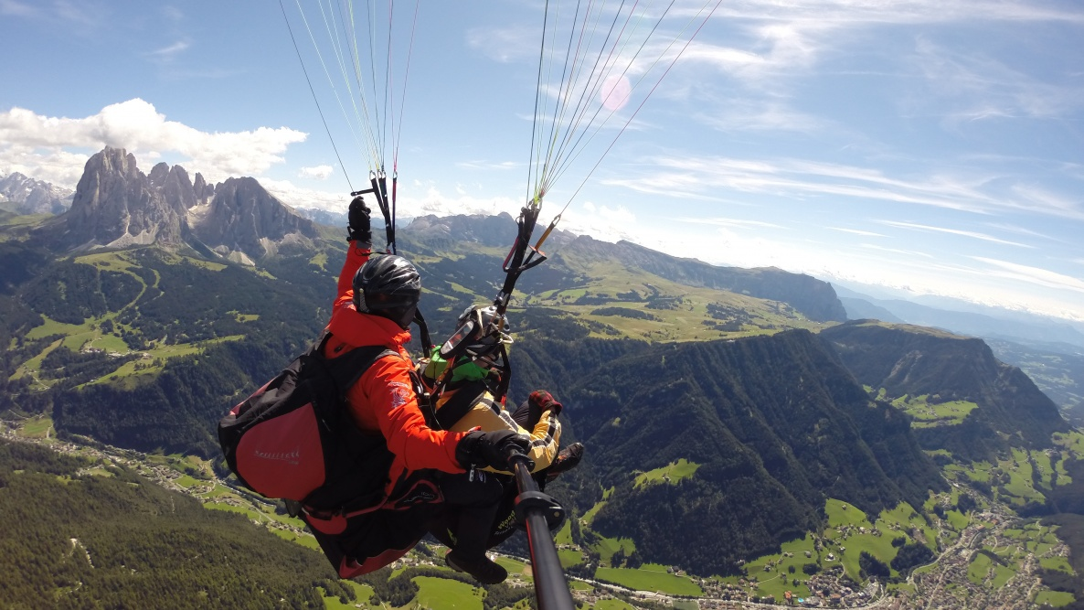 Gliding Flight - South Tyrol