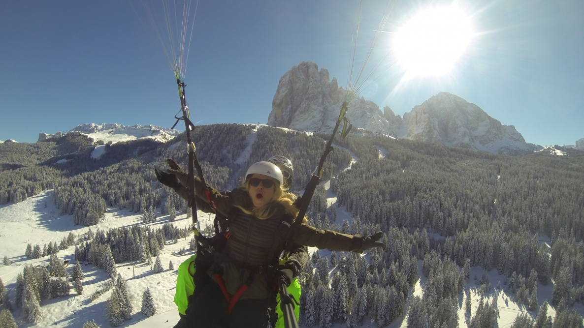 Winterflights - paragliding