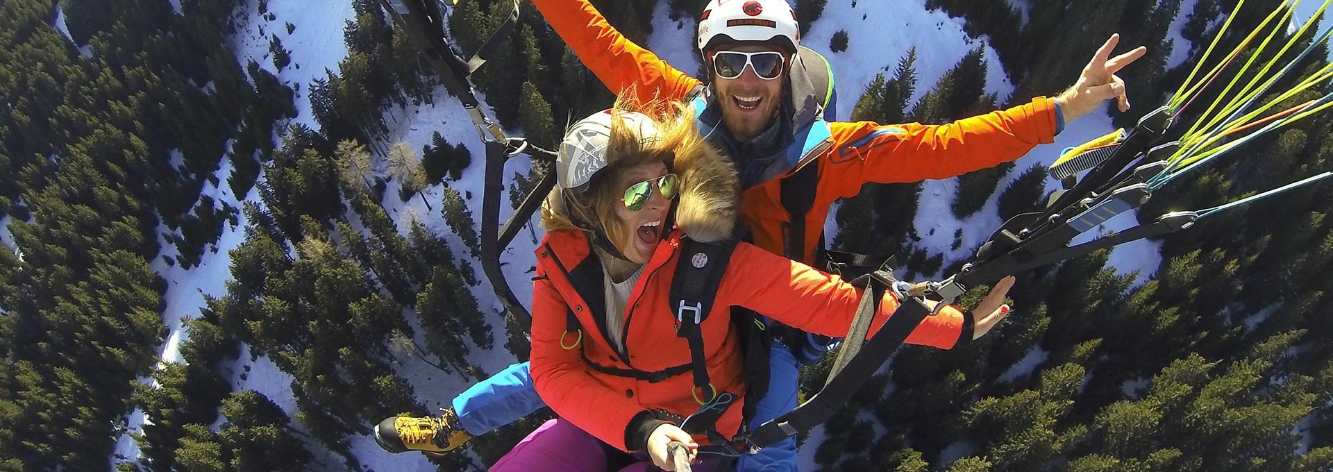 Val Gardena - Southtyrol paragliding