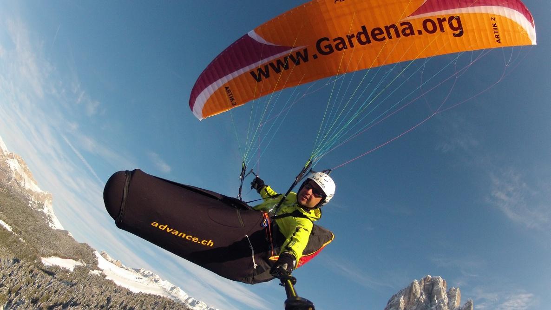 gardenafly.com - parapendio biposto nelle Dolomiti