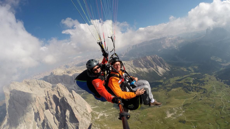 Dolomiti - voli biposto in Alto Adige