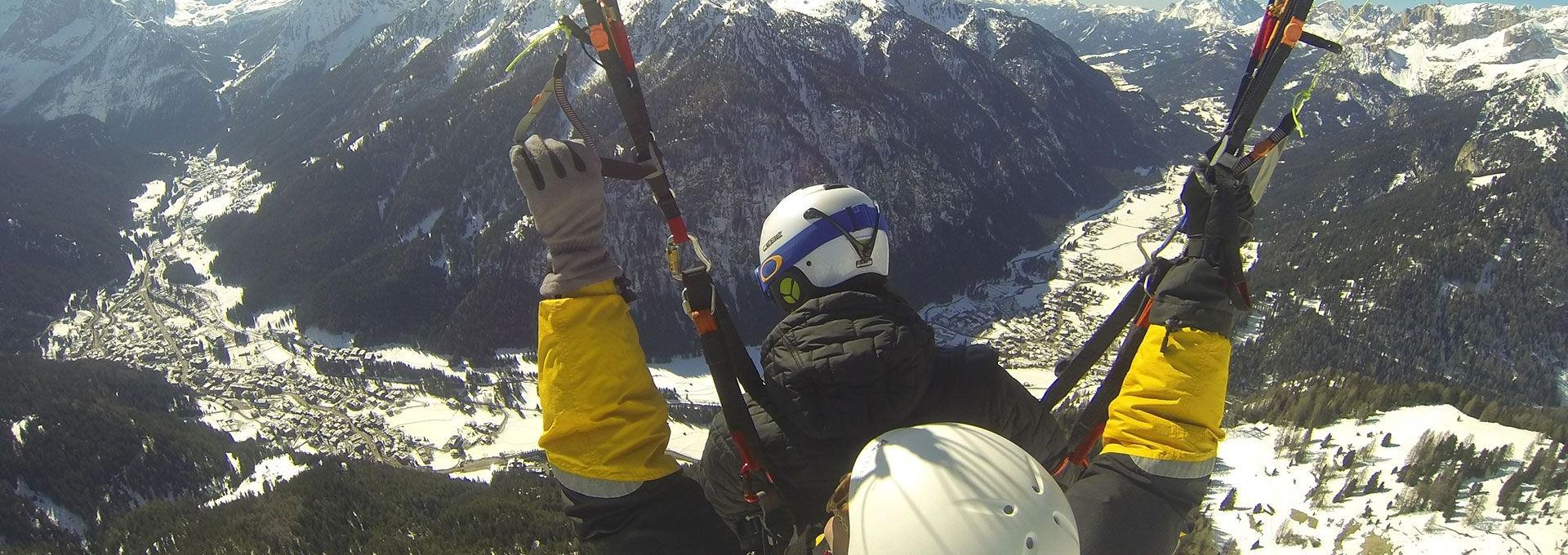 Paragliding Val di Fassa