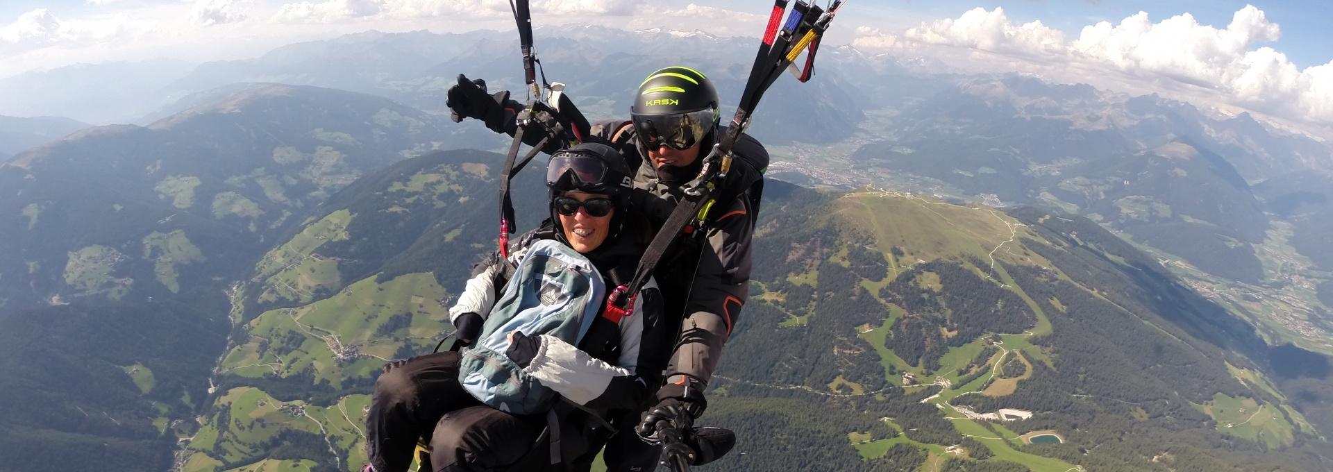Paragliding Tandem Plan de Corones