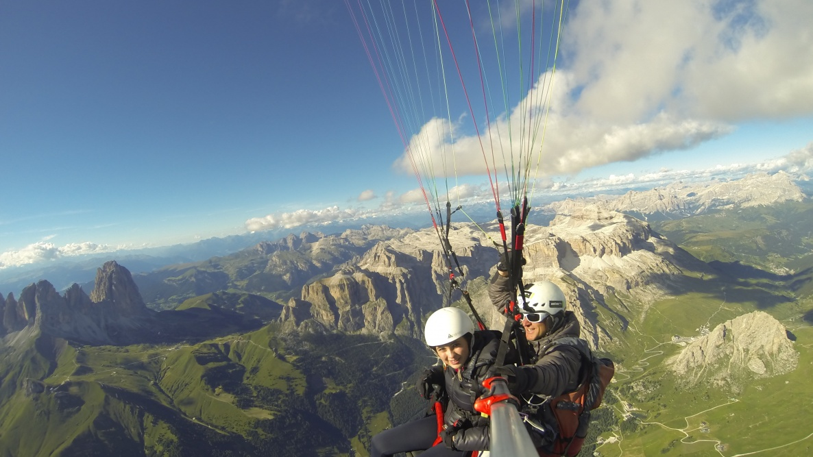 Paragliding Tandemflight South Tyrol