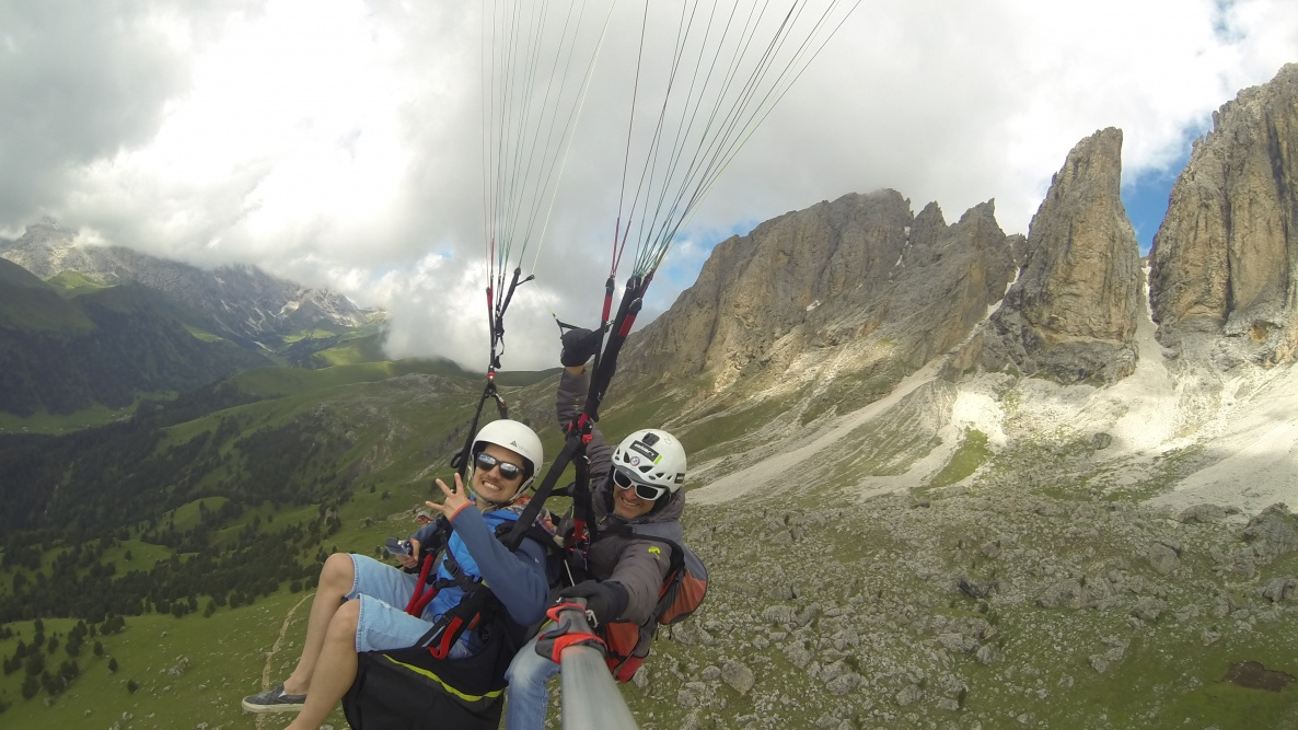 Biplaceflight Val di Fassa