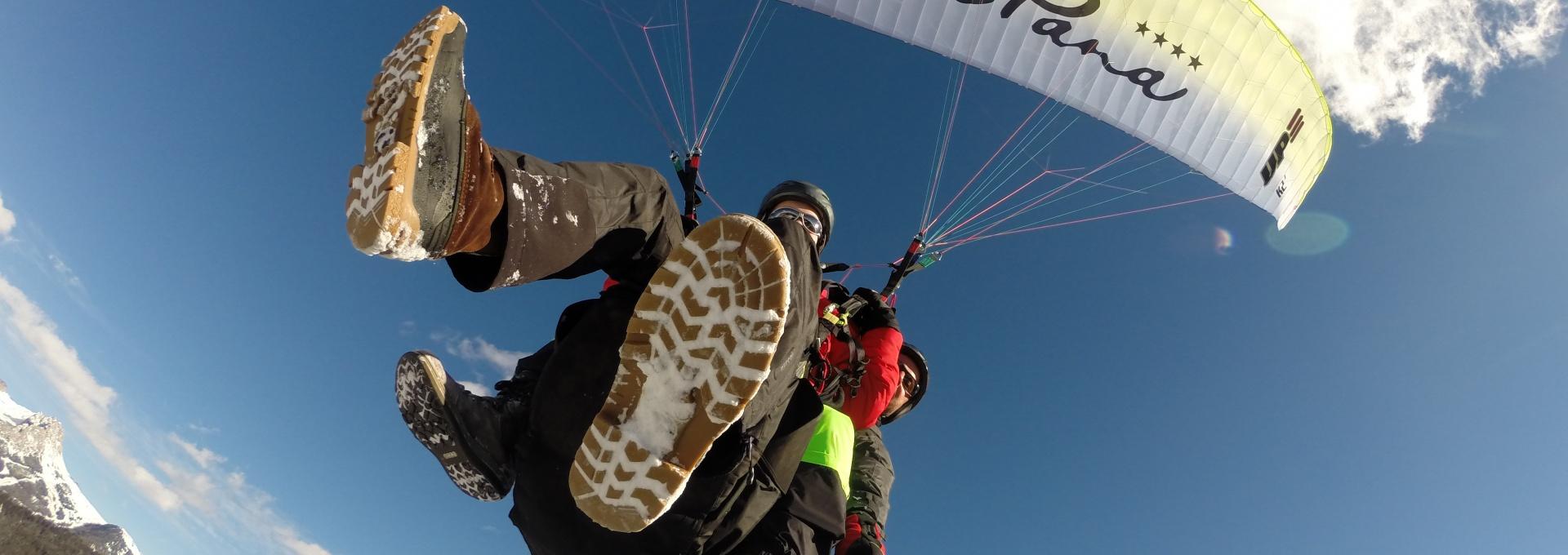 Dolomites - Paragliding in Val Gardena
