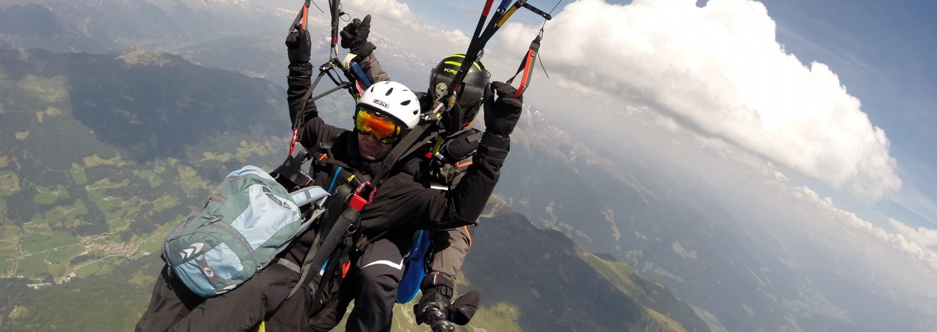 Paragliding Tandem Flight Val Pusteria - Pustertal