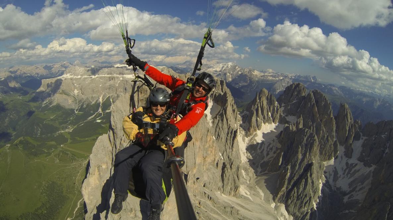 Volare in biposto in Alto Adige