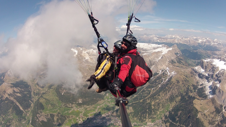 Dolomiten - Südtirol - Gleitschirmfliegen