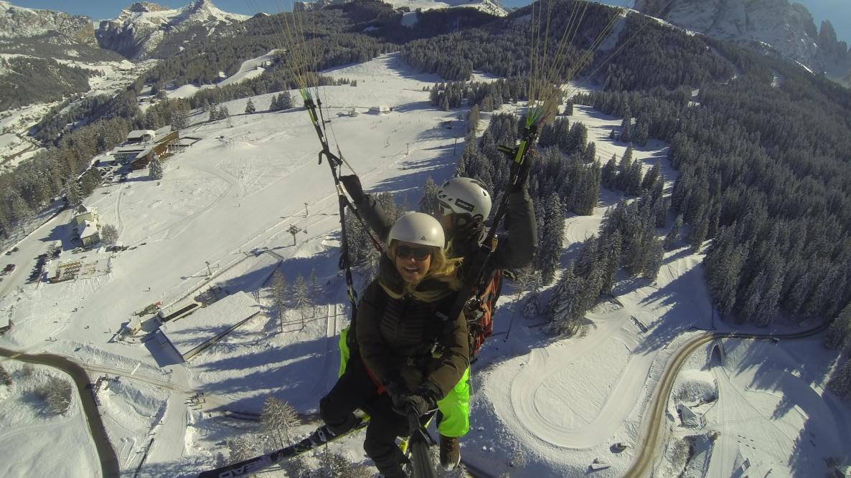 Gleitschirmfliegen Grödental - Südtirol