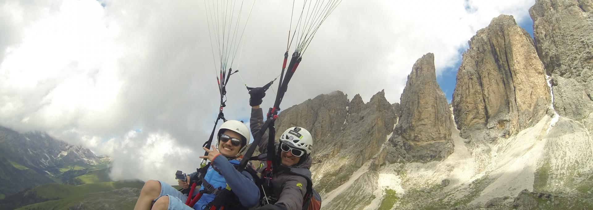 Tandemflights - Paragliding Tandem Val Gardena - Val Gardena