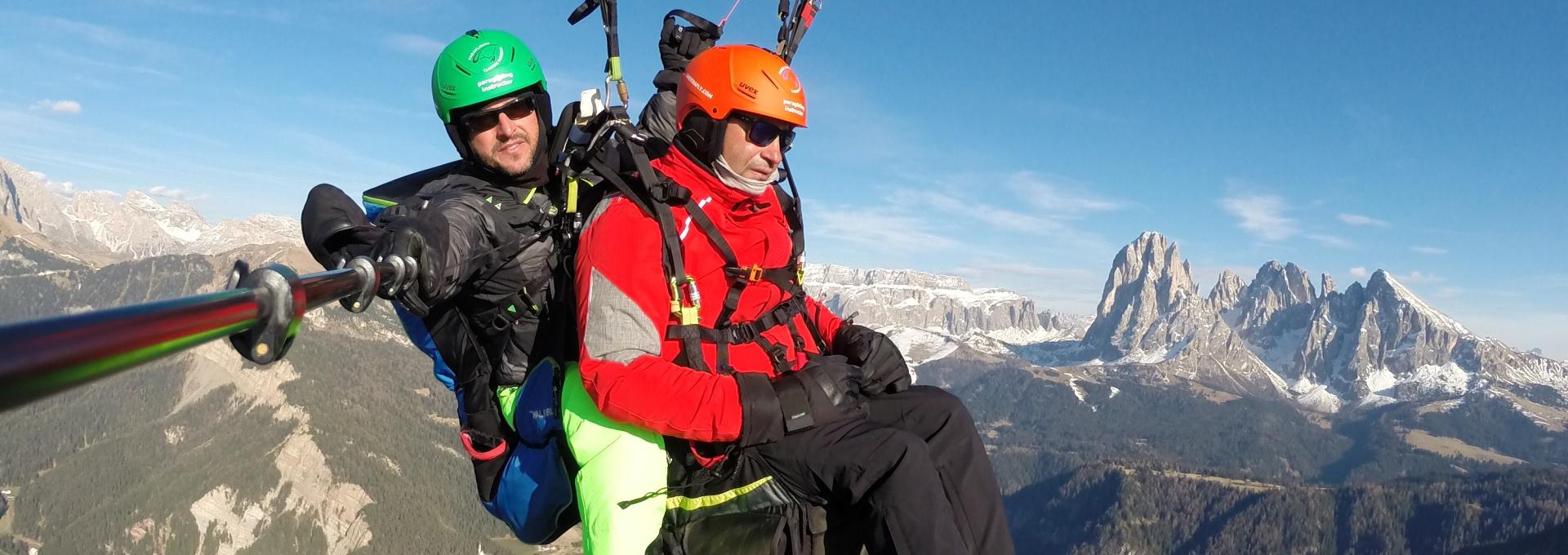 Gröden Tandemflüge Südtirol