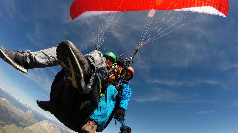 paragliding Val Gardena