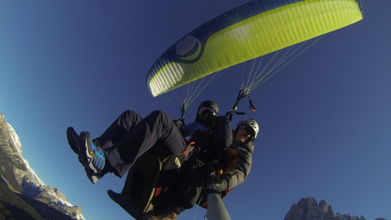 Valgardena - volare in parapendio biposto