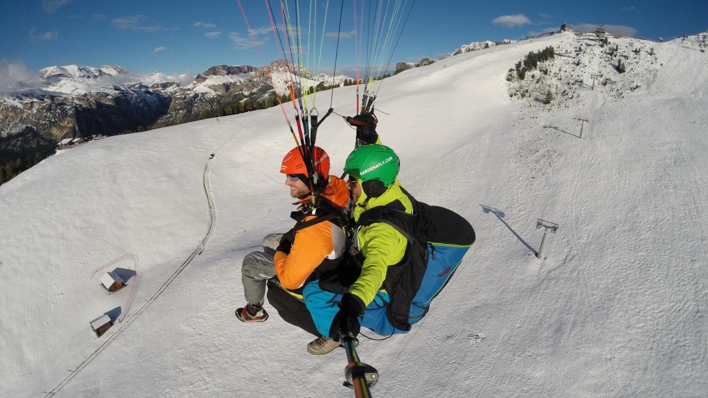 Val Gardena - tandem paragliding