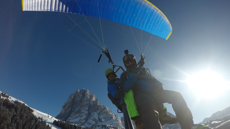 Tandemflug - Gröden - Dolomiten