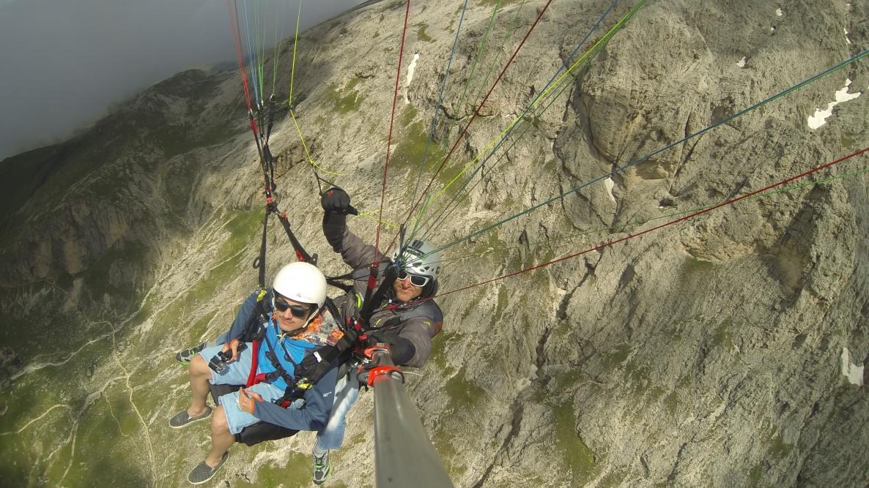 Val di Fassa - Paragliding