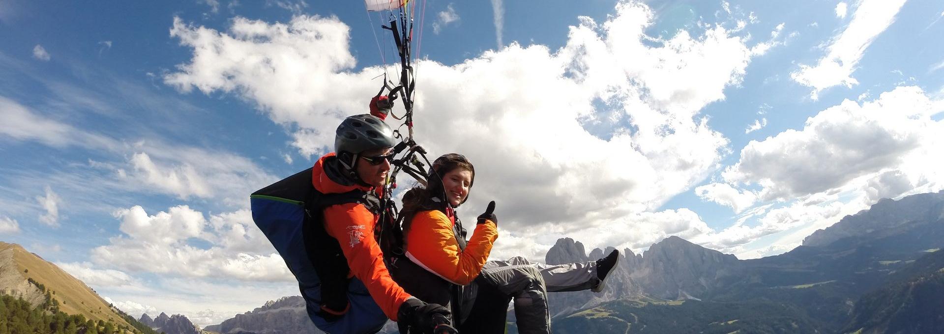 Val Gardena - Paragliding Tandemfly