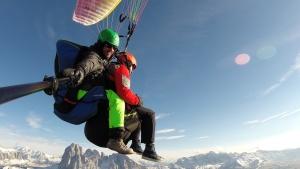 Paragliding Tandemflight Dolomites - Gardenafly
