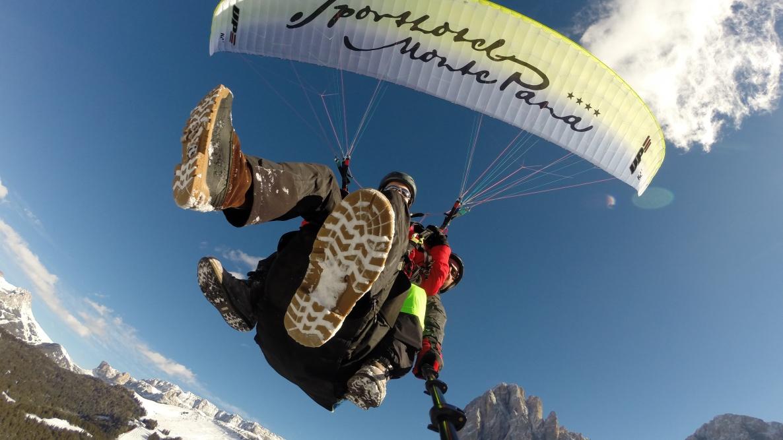 Mont Seura - Monte Pana Gleitschirmfliegen