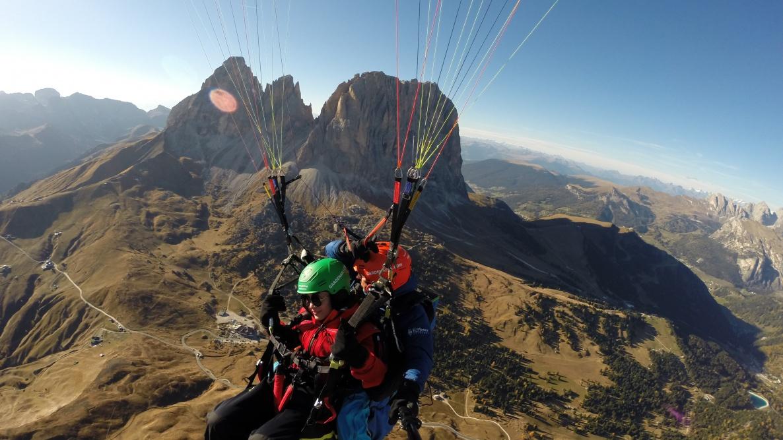 volare in parapendio Alto Adige