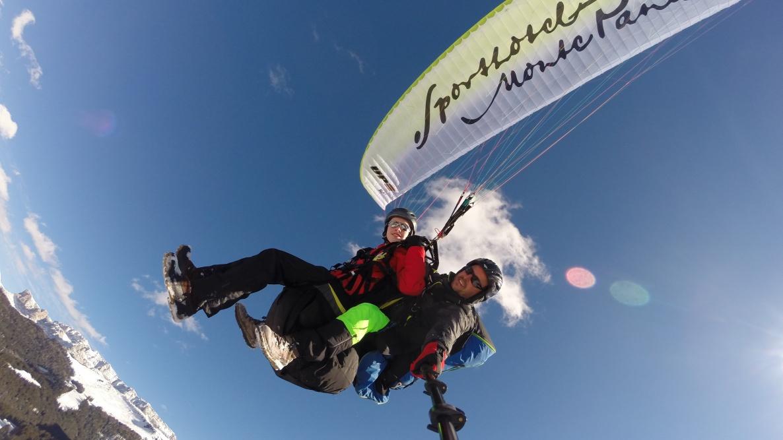 Sporthotel Monte Pana - Gleitschirmfliegen