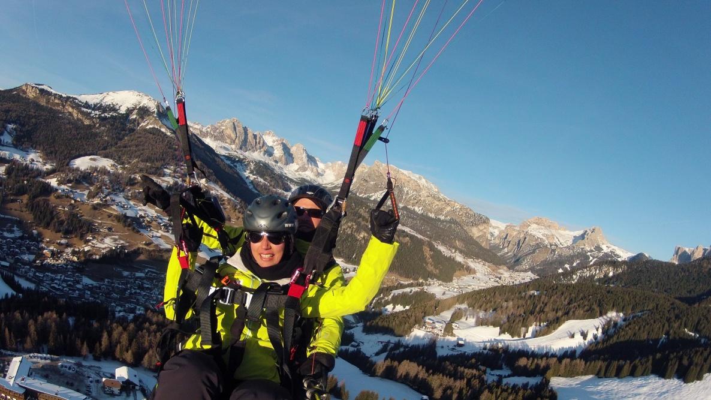 Monte Pana - Gleitschirmfliegen