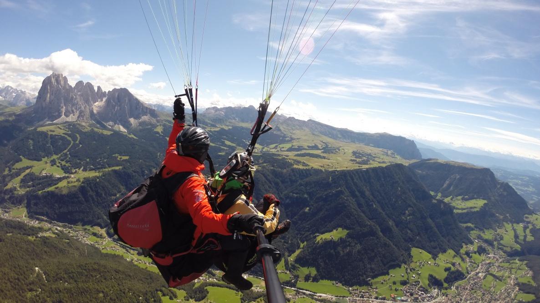 Volo planato in Alto Adige