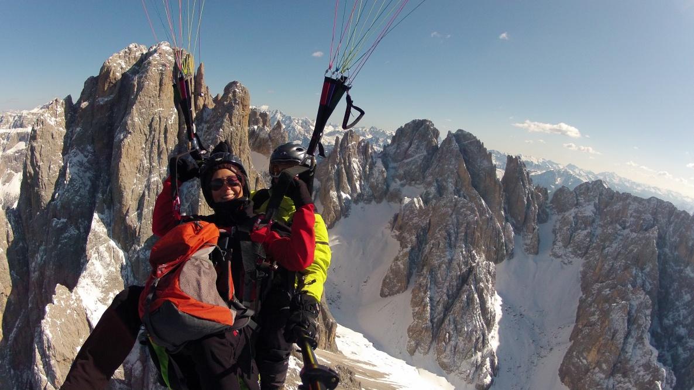 Val Gardena flights - South Tyrol