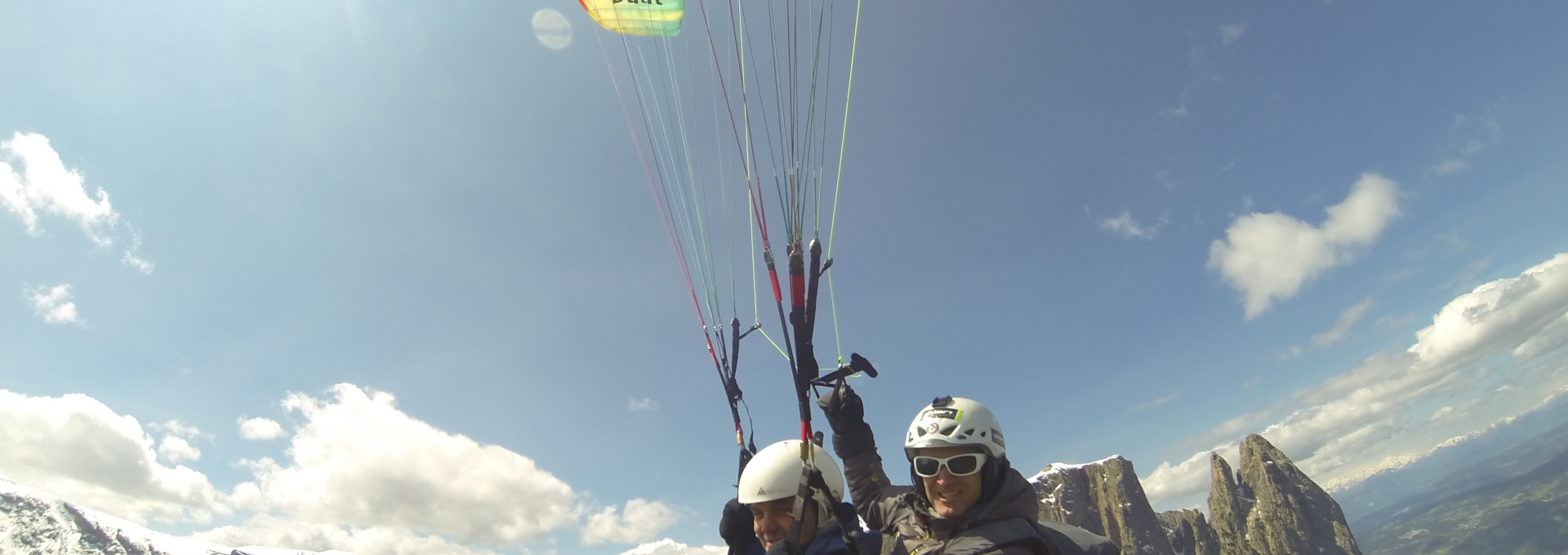 Types of flights - Paragliding Tandem Val Gardena - Val