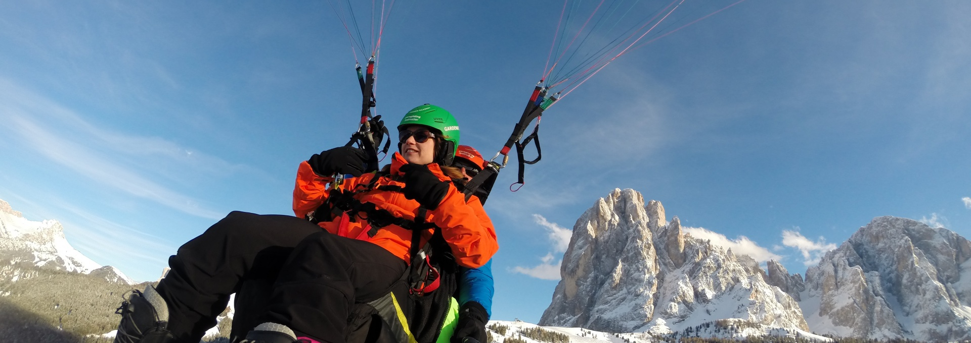 paragliding South Tyrol - Dolomites