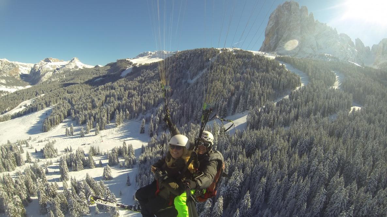 Südtirol - Passagierflüge mit dem Tandemgleitschirm
