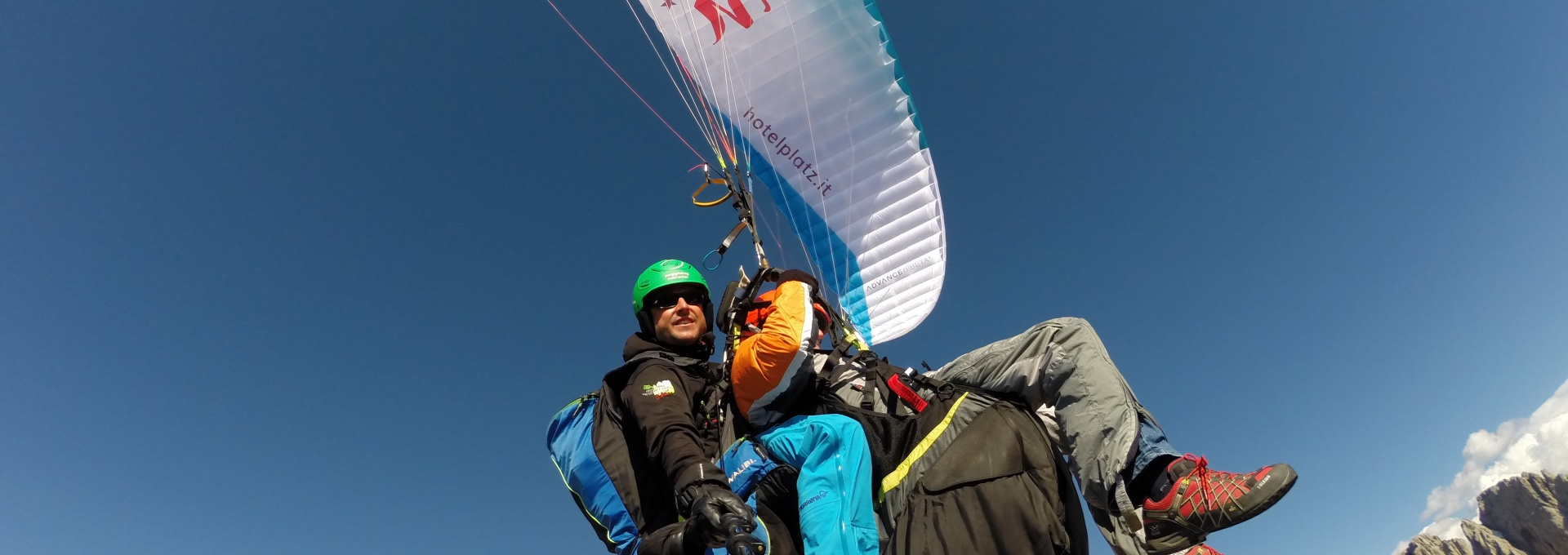 over Sassolungo - Dolomiti