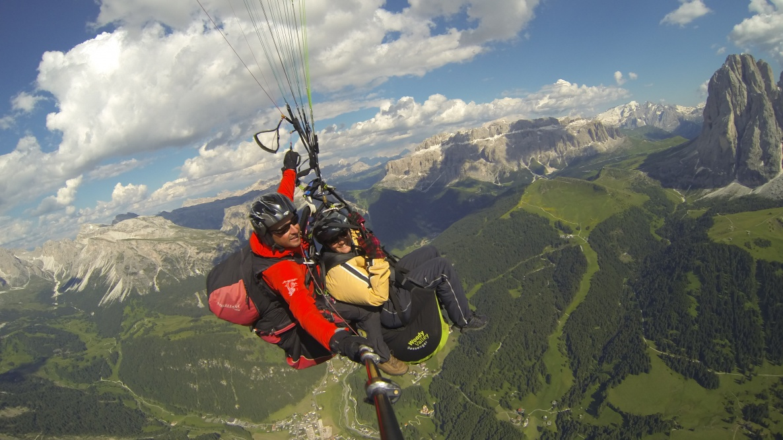Paragliding South Tyrol - Dolomites