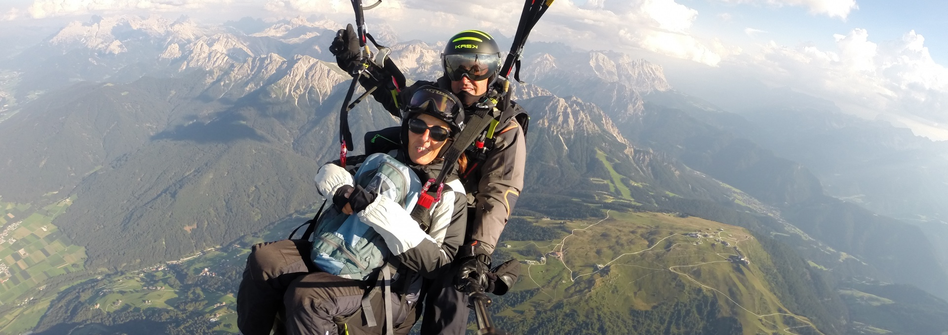 Paragliding Val Pusteria