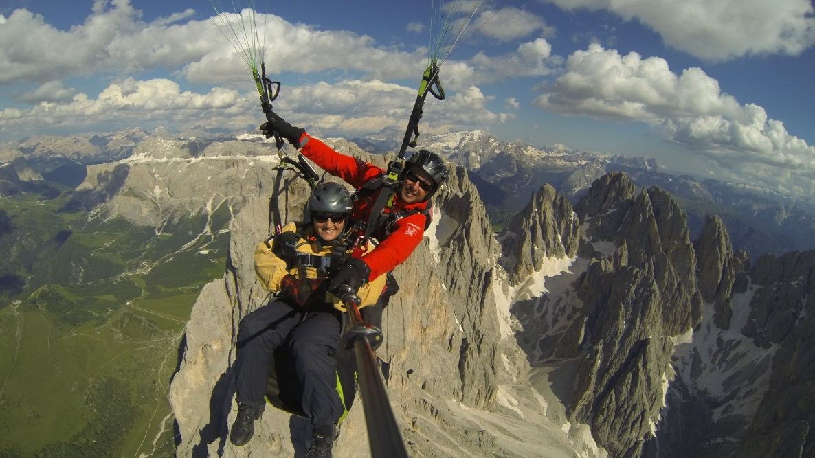 Paragliding in South Tyrol