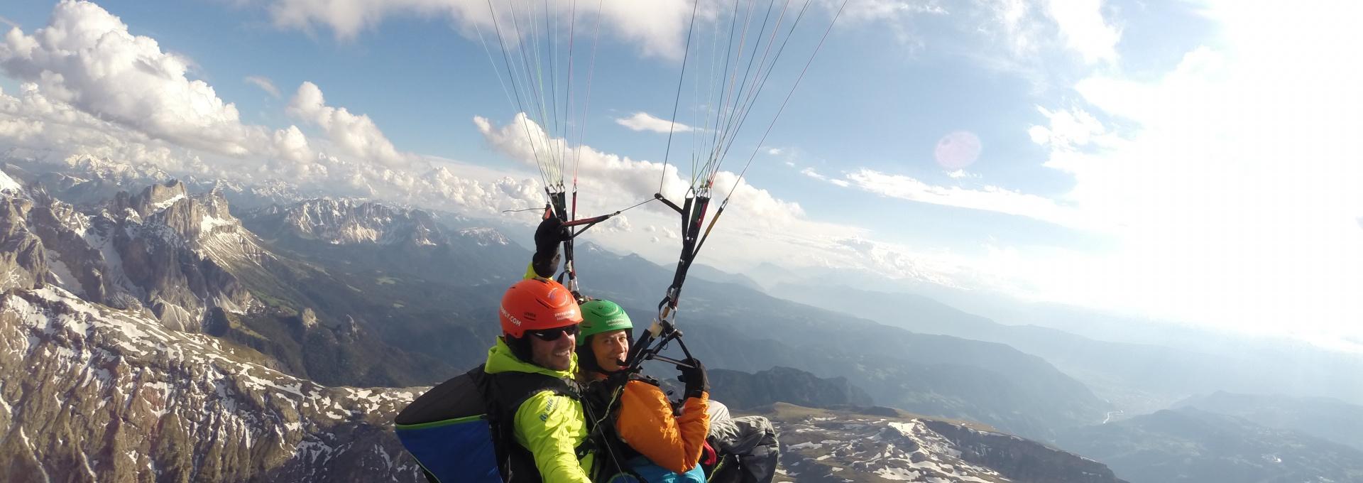 Alpe di Siusi paragliding